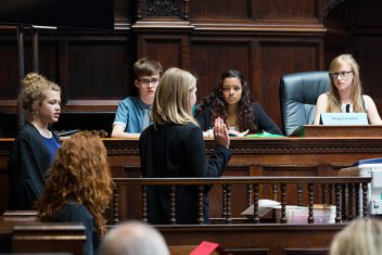 Magistrates' Court Mock Trial Competition (12-14yo)